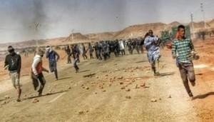 proteste e scontri a In Salah contro il fracking
