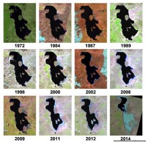 lago Urmia - Iran