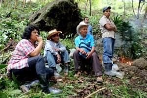 La leader indigena Berta Cáceres