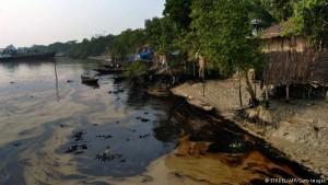 Sundarbans, sversamento di petrolio